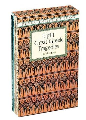 Eight Great Greek Tragedies: Six Books