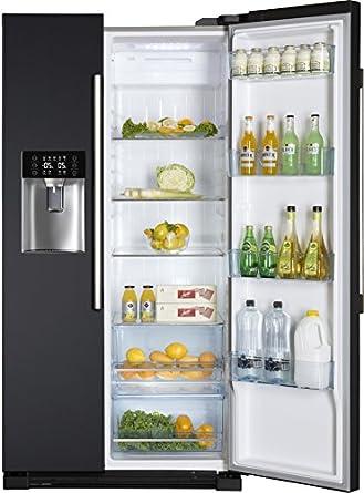 Haier HRF-628IN6 - frigo américain (Autonome, Gris, Américain, A+, LED, Non, SN, ST)
