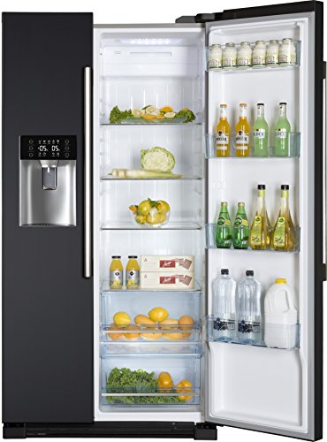 Haier hrf 628in6 gunstigster side by side mit for Side by side kühlschrank mit wassertank