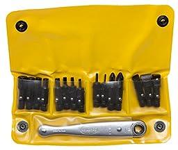 Chapman MFG #1316 All Purpose Soft Pack American Made hand tool Ratchet Screwdriver Set