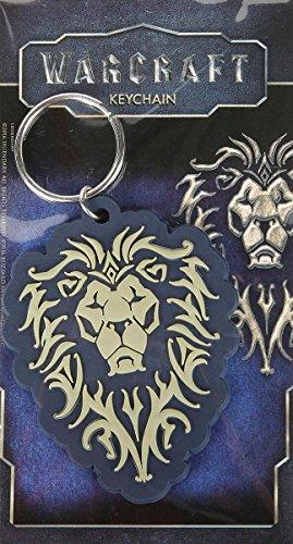World Of Warcraft L'Alleanza gioco film gomma nera Portachiavi ufficiale