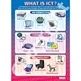 What is ICT ICT Educational Wall ChartPoster in laminated paper A1 850mm x 594mm