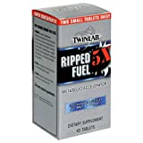 Twinlab Ripped Fuel Increased Definition for Men and Women, 40 Tablets