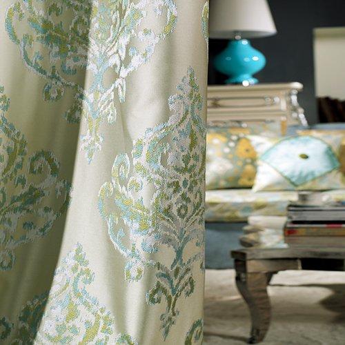 Lightinthebox (One Panel) Elegant Royal Vintage Heavy Luxury Room Darkenning Curtain front-1003333