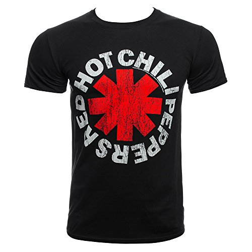 Red Hot Chili Peppers - T-Shirt - Distressed asterisco