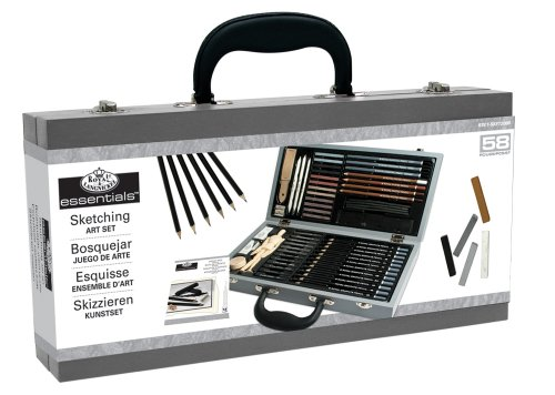 Royal & Langnickel Deluxe Sketching Artist Box Set Picture