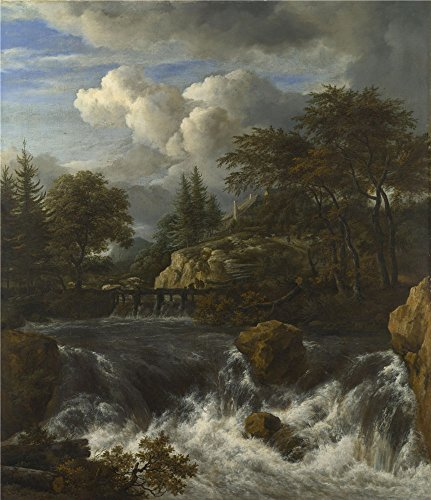 oil-painting-jacob-van-ruisdael-a-waterfall-in-a-rocky-landscape-printing-on-perfect-effect-canvas-2