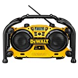 DEWALT DC011 Combination Work Site Radio and 7.2-Volt to 18-Volt Pod-Style Battery Charger