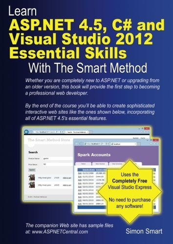 Learn ASP.NET 4.5, C# and Visual Studio 2012
