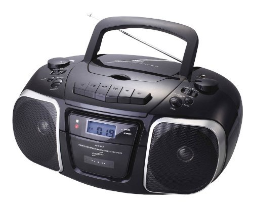 Supersonic SC-765 MP3/CD Player with USB/AUX Inputs, Cassette Recorder & AM/FM Radio
