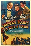 Sherlock Holmes and the Voice of Terror Poster Movie 27 x 40 In - 69cm x 102cm Basil Rathbone Nigel Bruce Hillary Brooke Reginald Denny Evelyn Ankers Montagu Love