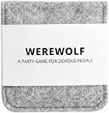 Werewolf: A Party Game for Devious People - The ULTIMATE Party Game for 7-20 People. Game Set Includes a Stylish Carrying Case and 22 Mini-Cards - ON SALE TODAY!