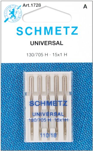 Universal Machine Needles-Size 18/110 5/Pkg