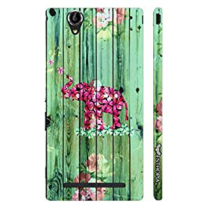 Sony Xperia T2 Elephant Art 7 designer mobile hard shell case by Enthopia