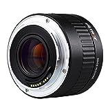 Viltrox Canon EOS EF デジタル 一眼 レフ カメラ 用C-AF 2X倍率 テレコンバーター エクステンダー オートフォーカス マウントレンズ 収納袋付き