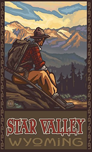 northwest-art-mall-pal-6477-mhm-star-valley-wyoming-mountain-hiker-man-11x17-print-by-artist-paul-a-