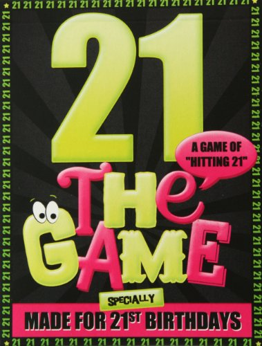 21 THE GAME. The new card game specially for 21st birthdays.