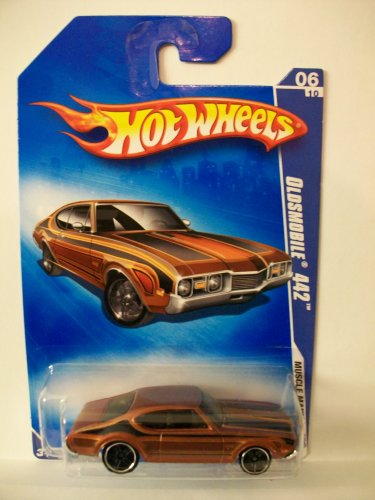 2009 Hot Wheels Oldsmobile 442 082/190 1:64 Scale