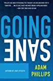 Going Sane (0007155360) by Phillips, Adam