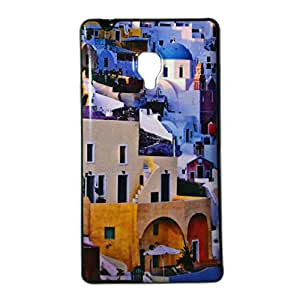 ksc sales New Rubber Finish Printed Silicone Soft Back Case Cover For Panasonic T40