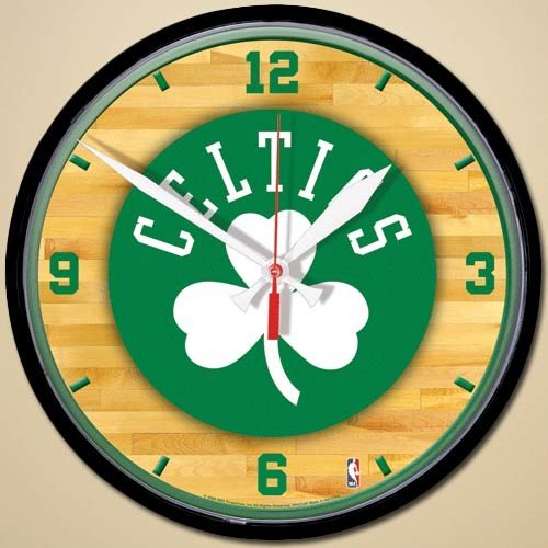 NBA Boston Celtics Court Wall Clock