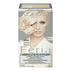 Feria Absolute Platinums Hair Color, Very Platinum by L'Oreal Paris ...