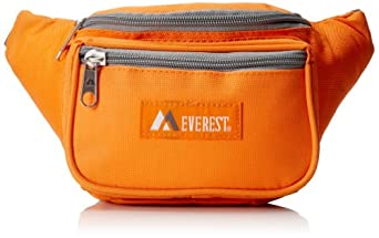Everest Signature Waist Pack - Standard, Orange, One Size