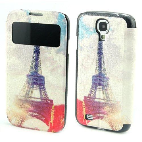 B73 Flip Leder Tasche Flip Case Cover Hülle Schale Für Samsung Galaxy S4 S IV i9500
