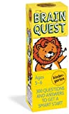 img - for Brain Quest Kindergarten, revised 4th edition: 300 Questions and Answers to Get a Smart Start book / textbook / text book