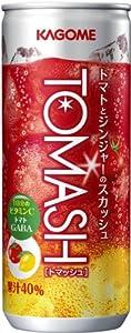 カゴメ TOMASH(トマッシュ) 250ml缶 1ケース(30本)
