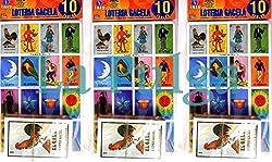 3 Sets - Loteria Mexican Bingo Card Game (10 Tablas/Tablets & 54 Cartas/Cards)