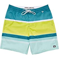 Billabong Men's Spinner 21 Lo Tides Stretch Boardshort, Lime, 28