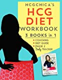 img - for HCGChica's HCG Diet Workbook: 3 Books in 1 - Coaching, Diet Guide, and Phase 2 Daily Tracker (HCG Diet Workbooks) (Volume 1) book / textbook / text book