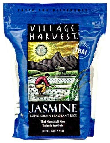 Village Harvest Thai Jasmine, 16-Ounce (Pack of 6)