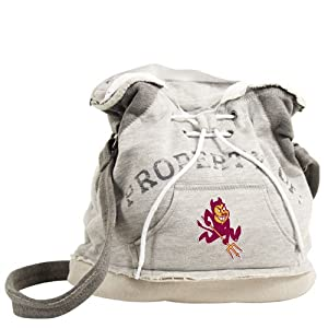 ProFanity PF-71060-ASU-GREY-1 Arizona State Sun Devils Property of Hoody Duffle by Pro Fan Ity