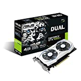 ASUSTek NVIDIA GeForce GTX1050Ti搭載ビデオカード オーバークロック メモリ4GB DUAL-GTX1050TI-4G