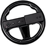 echange, troc Hubb Accessories  Steering Wheel - Motion Plus - Black (Wii)  - Wii Remote Not Included [import anglais]