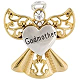 Wings And Wishes Angel Tac Pin, Angel For A Special Godmother