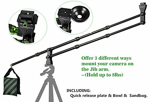 imorden-57ft-carbonfiber-mini-dslr-camera-crane-jib-armhold-up-to-8lbs-with-quick-release-plate-bowl