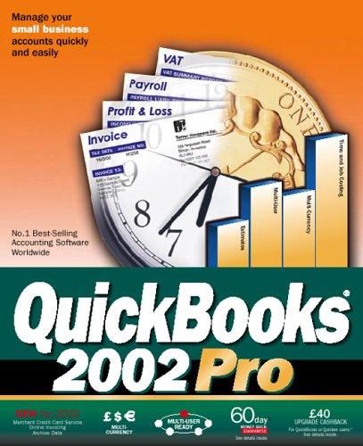 QuickBooks 2002 Pro 5 User
