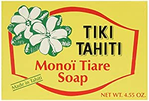 Monoi Tiare Tahiti Bar Soap 4.55 Ounces