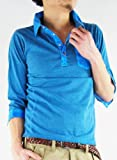 (アーケード) ARCADE 4color ポロシャツ メンズ アイスダイ加工 7分袖 ポロシャツ