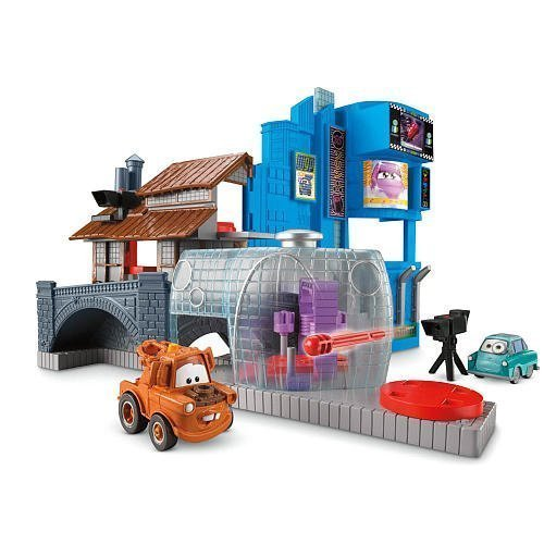 Disney / Pixar CARS 2 Movie Imaginext Exclusive Race Around The World Tokyo Villain Playset - 1