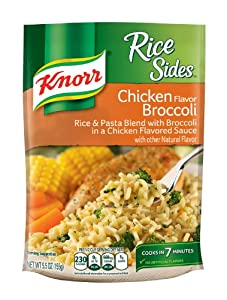 Knorr/Lipton Rice & Sauce, Chicken Broccoli, 5.5-Ounce Packages (Pack of 12)