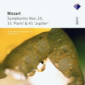 Mozart: Symphonies Nos. 25, 31 'Paris' & 41 'Jupiter'