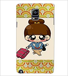 PrintDhaba Cartoon D-4723 Back Case Cover for SAMSUNG GALAXY NOTE 3 (Multi-Coloured)