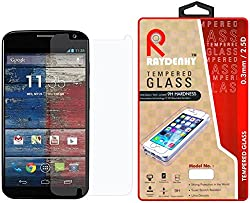 Raydenhy Premium Quality Tempered Glass For Motorola Moto X1 (1st Generation)