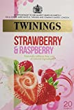 Twinings Infusion Raspberry, Strawberry and Loganberry Tea / 20 Tea Bags / 40g / 1.4oz.