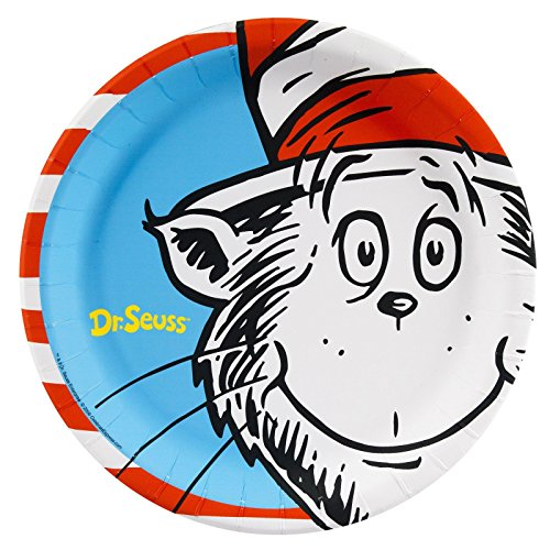 Dr. Seuss Dinner Plates (8)