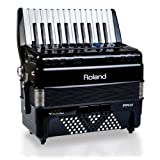 Roland V-Accordion Lite with 26 Piano Keys and Speakers, black (FR-1X-BK) (Color: Black, Tamaño: medium)